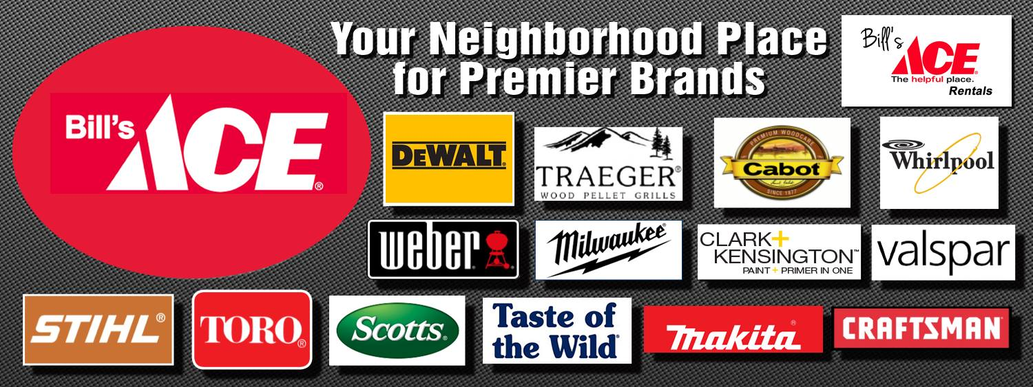 Featured Brands Bills Ace Hardware Osceola Wi